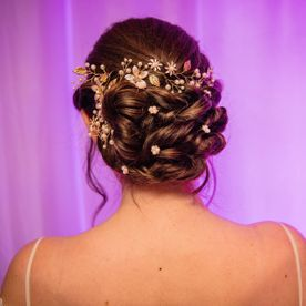 Hair for event